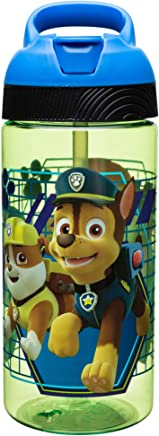 Zak Designs Paw Patrol 19 oz. Plastic Water Bottle, Paw Patrol