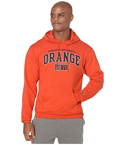 Champion College Syracuse Orange Eco(r) Powerblend(r) Hoodie (Orange 2) Men