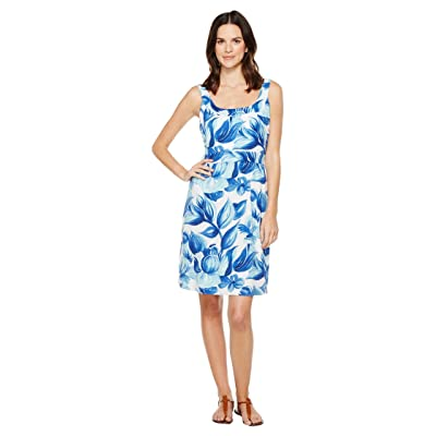 Tommy Bahama Painterly Petals Short Dress (Old Royal) Women