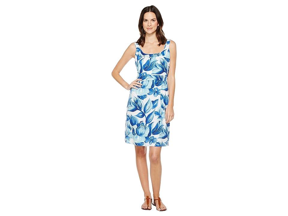 Tommy Bahama Painterly Petals Short Dress (Old Royal) Women