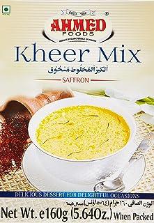 Ahmed Foods Kheer Mix Saffron, 160 gm