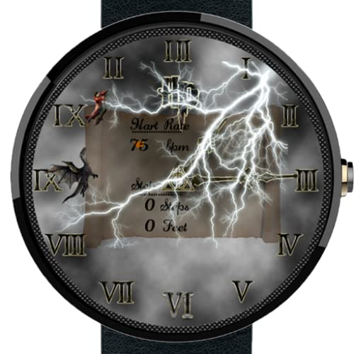 Animated Fiction Android Wear WatchFace