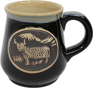 Glen Appin Stoneware Piping Hot Mug Featuring A Highland Cow Coo