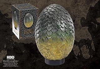 Noble Collection - Réplique Game of Thrones en résine de l'Oeuf de Rhaegal - 0849241002677