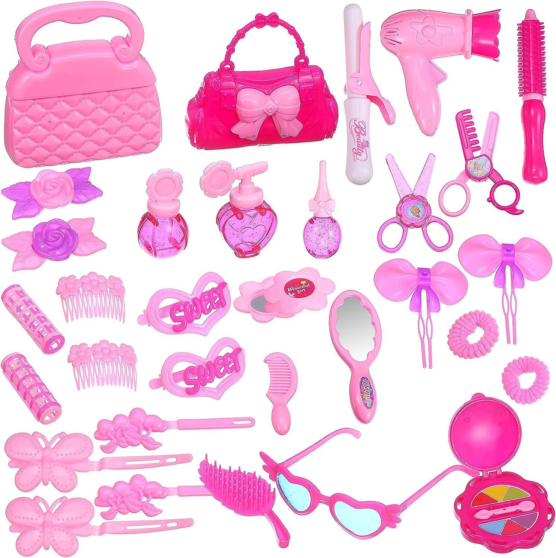 Kasyat 34 Super intense SALE Pieces Beauty Salon Finally resale start Kit up Hair Make Doll Beaut