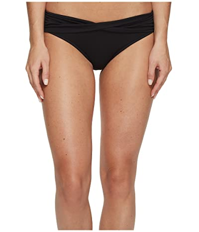 Seafolly Twist Band Mini Hipster Bottom (Black) Women