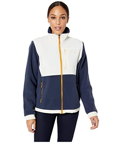 The North Face Denali 2 Jacket (Urban Navy/Vintage White) Women