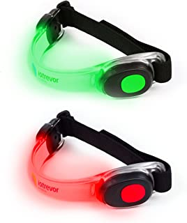 iotrevor fitness Reflective Running Gear - Fashionable Running Lights for Runners (Set of 2)