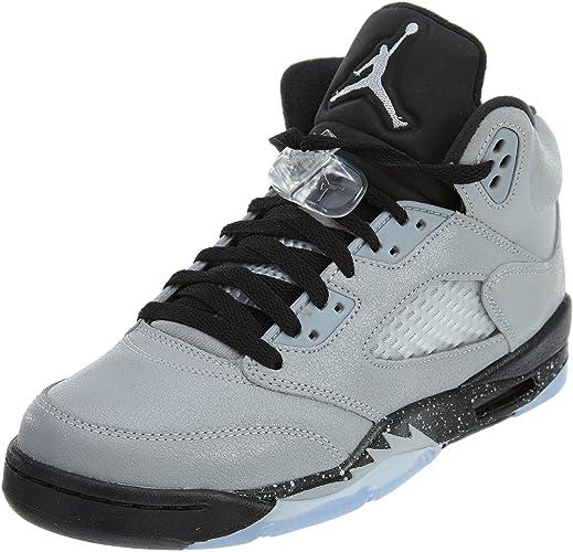 Nike AIR Jordan 5 Retro GG - Baskets pour Femme, Gris, 42 : Amazon ...