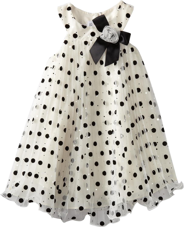 Bonnie Jean Little Girls' Crystal with Dress Hem Pleat 55% OFF cheap Wire