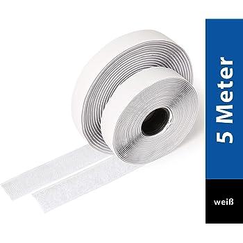 100 Fascette per cavi bianco 25 cm riutilizzabili di NUOVO CHIUDIBILE nuovamente risolvere NUOVO