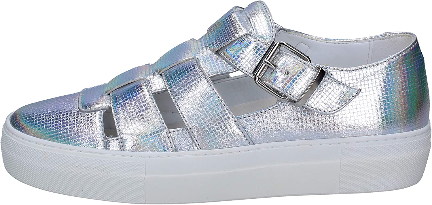 CULT Sandals Womens Leather Silver