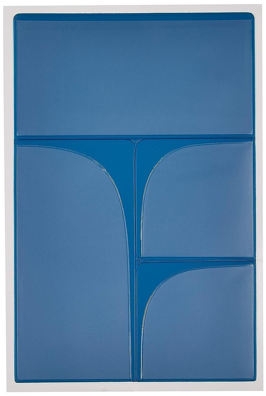 すべてラベンダー侵入するアーティミス ダイアリープラス タックポケット ブルー