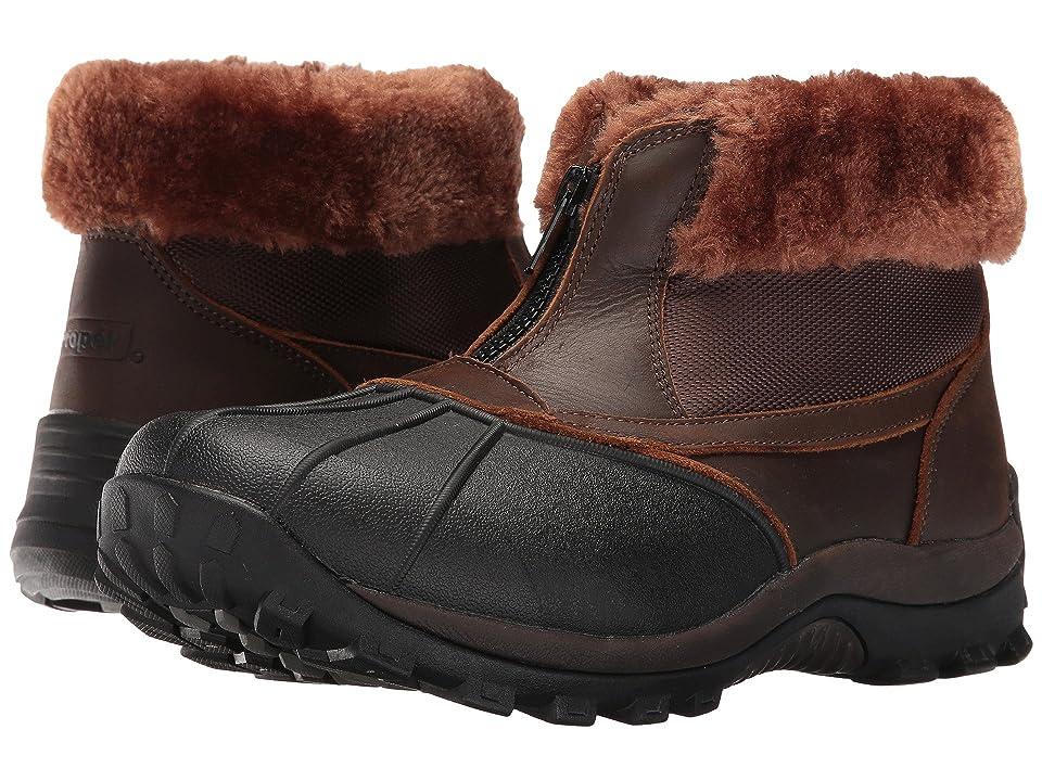 Propet Blizzard Ankle Zip II (Brown/Nylon) Women