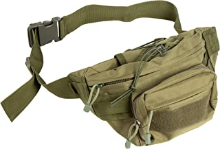 Juvale Tactical Fanny Pack - MOLLE Fanny Pack, Military Waist Pack, Portable Large Waist