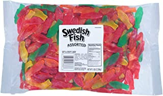 SWEDISH FISH Assorted Soft & Chewy Candy, 5 lb