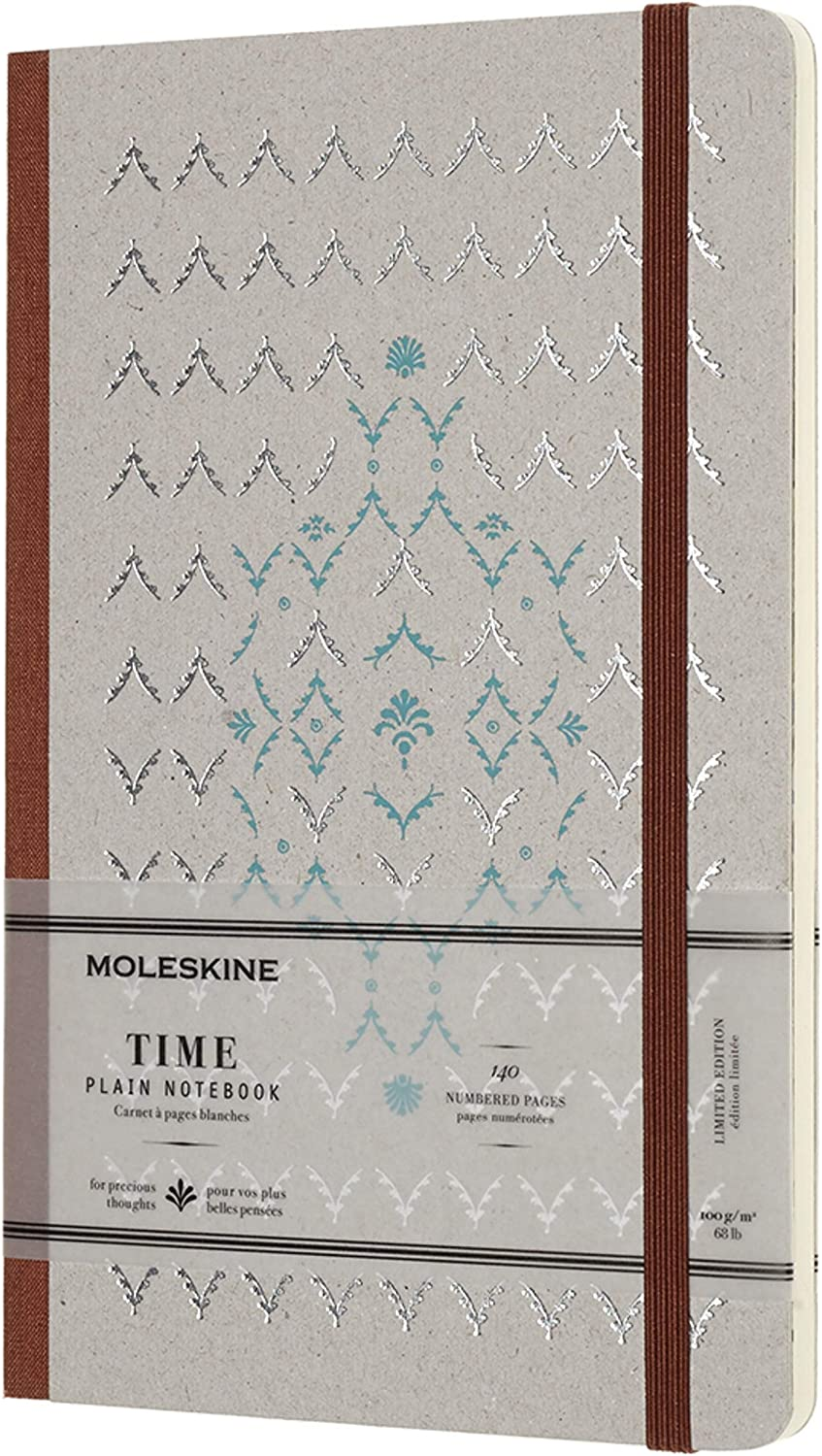 Moleskine Limited Collection Time Notebook Large Cover Hard 5 Sale special Long Beach Mall price