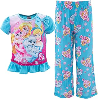 Disney Princess Little Girls Palace Pets 2pc Shortall Set