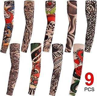 Konsait 9 Stück Tattoo Ärmel, Tattoo Sleeves Arm Tattoo St