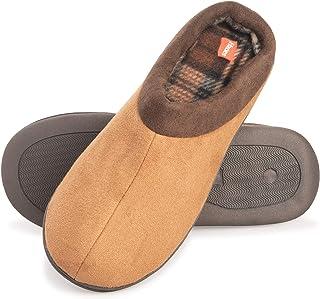 Hanes Men's Memory Foam Indoor Outdoor Clog Slipper Shoe with Fresh IQ