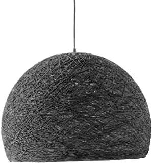 Lámpara Colgante Moderna gris, Lámparas de Techo Nórdicas, Iluminación Loft, Lámparas Minimalistas, Decoración Hogar, Estilo Escandinavo, Lámparas Salón - HALF SPHERE