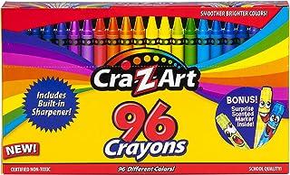 Cra-Z-Art 96ct Crayons in Flip-Top Box with Sharpener