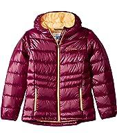 Columbia Kids - Gold 550 TurboDown™ Hooded Down Jacket (Little Kids/Big Kids)