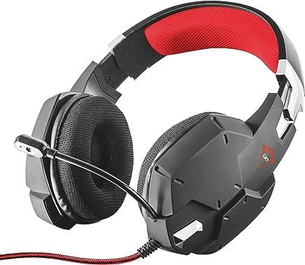 Trust Cuffie Gaming GXT 322 Carus, con Microfono Flessibile, Controllo del Volume ed Esclusione Audio del Microfono su Esterno del Padiglione, Nero - Trova i prezzi più bassi