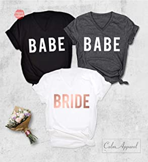 Babe Shirt, Bride T-Shirt, Bachelorette Party Tanks, Wedding Beach Party Muscle Tops, Bridesmaid's Gift