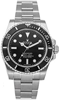 Submariner Mechanical (Automatic) Black Dial Mens Watch 114060 (Certified Pre-Owned)