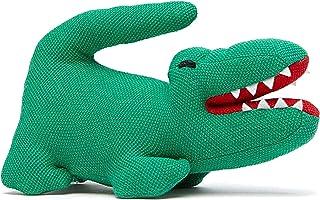 Lacoste Boys Baby Stuffed Croc Toy, Coriander 12M