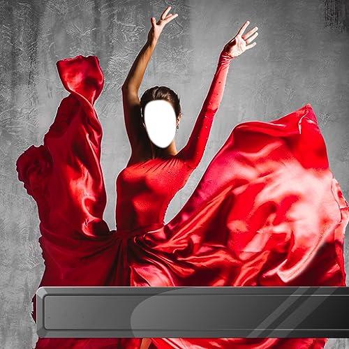 Tänzer Fotomontage