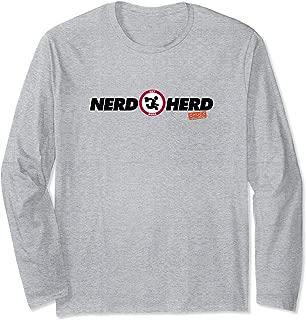Chuck Nerd Herd Longsleeve T Shirt Long Sleeve T-Shirt