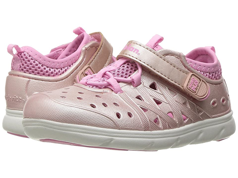 Stride Rite Made 2 Play Phibian (Toddler/Little Kid/Big Kid) (Rose Gold) Girls Shoes