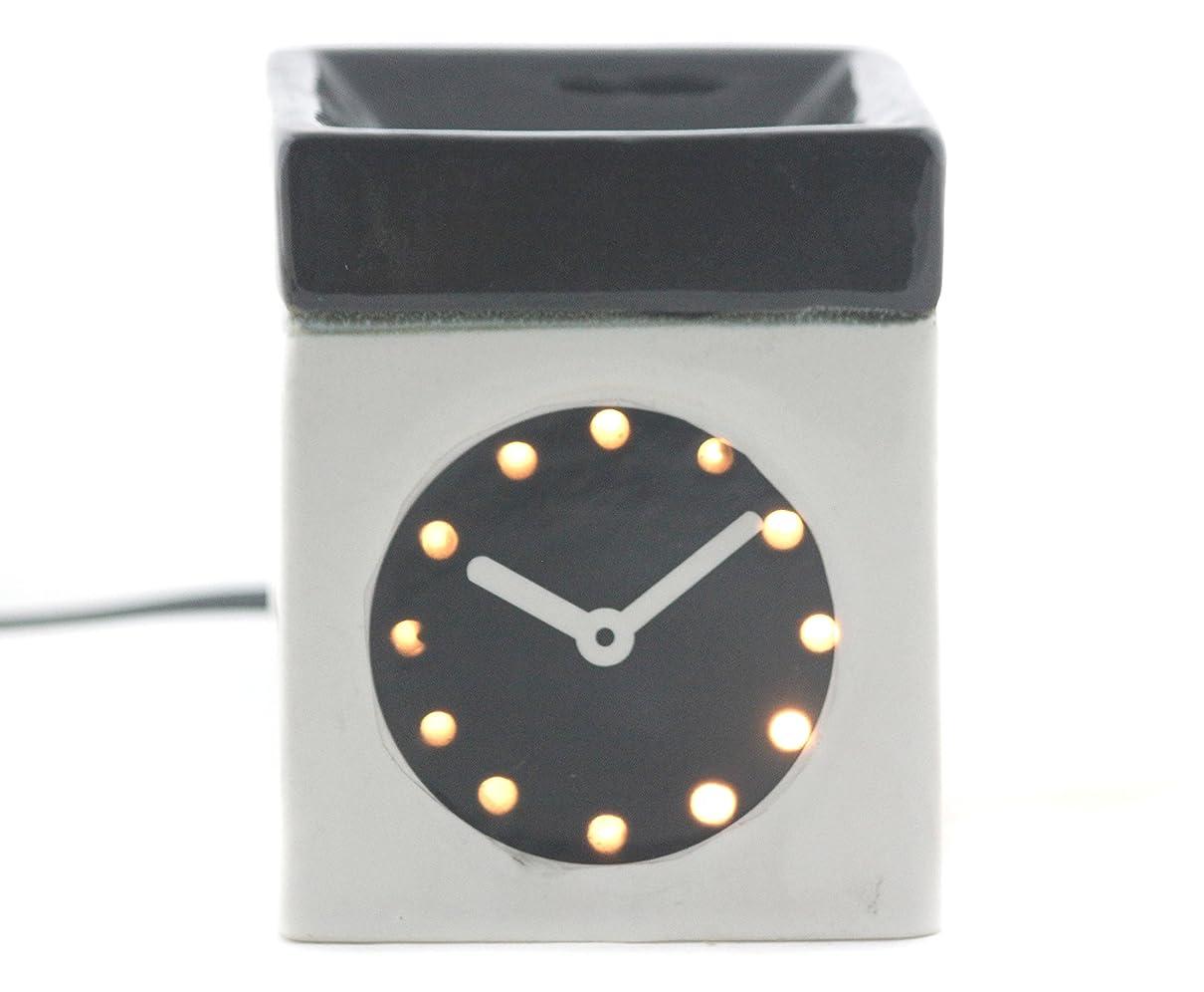 ジャーナル独特の地下鉄Karguzzari セラミック 電気 アロマディフューザー ワイヤー オイルウォーマー ディスペンサー コード付き アロマ オイルバーナー エッセンシャルオイル ディフューザー アロマセラピー ランプ 腕時計 OCER-105