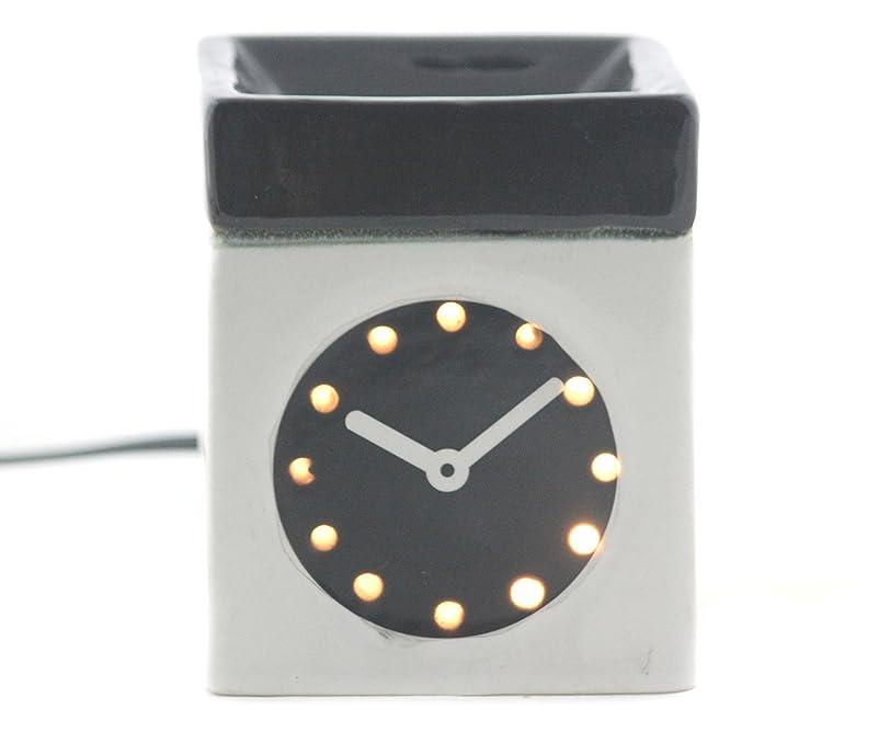 内陸富豪ポジティブKarguzzari セラミック 電気 アロマディフューザー ワイヤー オイルウォーマー ディスペンサー コード付き アロマ オイルバーナー エッセンシャルオイル ディフューザー アロマセラピー ランプ 腕時計 OCER-105