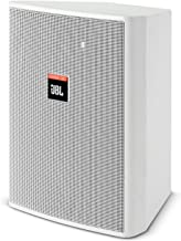 JBL Professional Control 25 Compact Indoor Outdoor Background Foreground Loudspeaker, White (Control 25-WH)