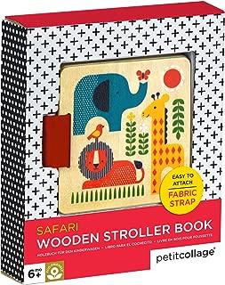 wooden baby book