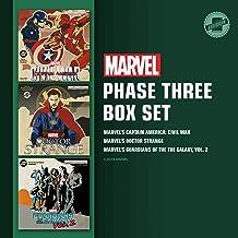 Marvel's Phase Three Box Set: Marvel's Captain America: Civil War; Marvel's Doctor Strange; Marvel's Guardians of the Gala...