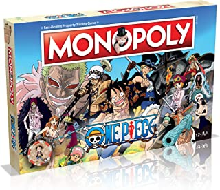 Winning Moves Australia 36948 One Piece Monopoly- Entertainment, Blue