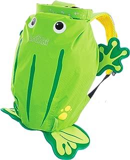Trunki Kid's Waterproof Swim & Gym Bag – PaddlePak Ribbit Frog (Green)