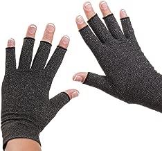 Dr. Frederick's Original Arthritis Gloves for Women & Men - Compression for Arthritis Pain Relief - Rheumatoid & Osteoarthritis - Men - Large