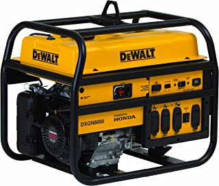 Best dewalt 6000 generator Reviews