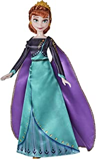 Disney Frozen 2 Queen Anna Fashion Doll, Dress, Shoes, and Long Red Hair, Toy for Kids 3 Years Old and Up