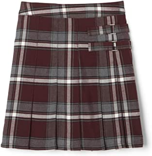 French Toast Girls' Plaid Two-Tab Scooter Skirt