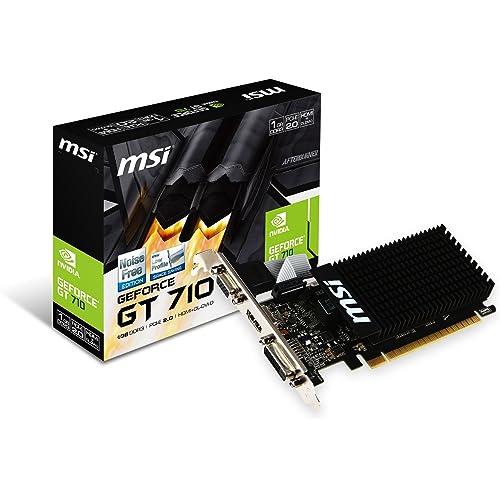 3位:MSI GeForce GT710 GDDR3 1GB グラフィックスボード VD5932(画像は『Amazon.co.jp』から引用)