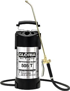 Gloria 505T Profiline, pulverizador de Alto Rendimiento de 5 litros en Acero Inoxidable