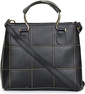 GLOSSY Women's Sling Bag (Black)