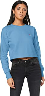 Champion Women's Sporty Cropped Pullover Crew