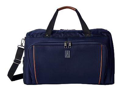 Travelpro 22 Crew Versapack Weekender Carry-On Duffel Bag w/ Suiter (Patriot Blue) Luggage